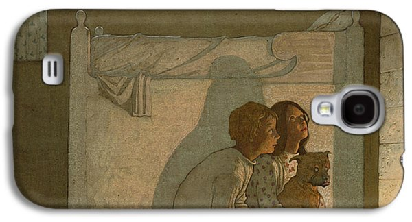 Illustration To Maeterlinck's The Bluebird Galaxy S4 Case by Frederick Cayley Robinson