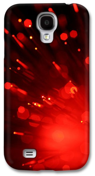 Abstract Digital Photographs Galaxy S4 Cases - Im Burning For You Galaxy S4 Case by Dazzle Zazz