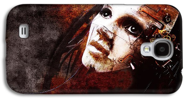 Emotion Mixed Media Galaxy S4 Cases - Im Still Here Galaxy S4 Case by Photodream Art
