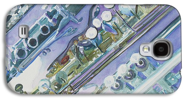 I'm Still Painting On The Keys Galaxy S4 Case by Jenny Armitage