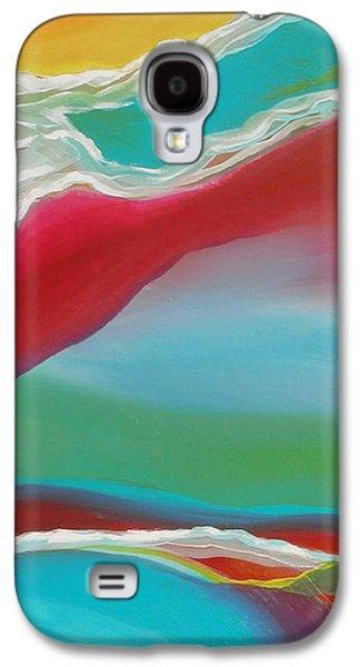 Brain Paintings Galaxy S4 Cases - Imagination 1 Galaxy S4 Case by Karyn Robinson