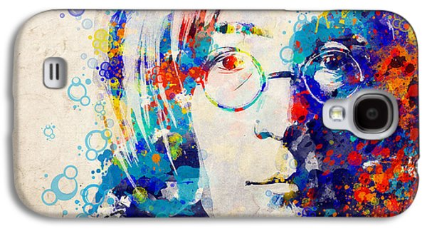 Beatles Galaxy S4 Cases - Imagine 5 Galaxy S4 Case by MB Art factory