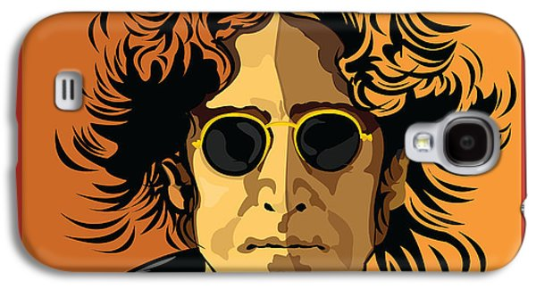 Fab Four Galaxy S4 Cases - Imagine Galaxy S4 Case by Larry Butterworth