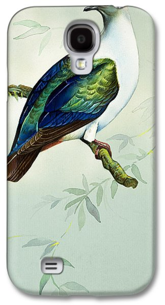 Imperial Fruit Pigeon Galaxy S4 Case by Bert Illoss