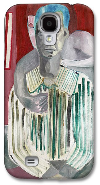 Prostitutes Paintings Galaxy S4 Cases - Impotent Galaxy S4 Case by Anon Artist