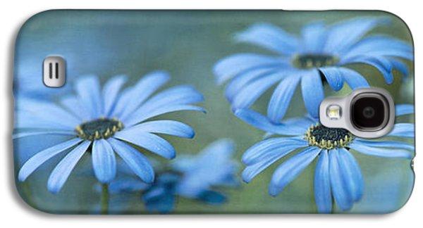 Botanical Galaxy S4 Cases - In A Corner Of A Garden Galaxy S4 Case by Priska Wettstein