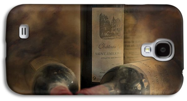 Bottle Of Wine Galaxy S4 Cases - In a Corner of a Wine Cellar Galaxy S4 Case by Nomad Art And  Design