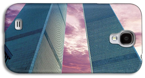 Twin Towers Nyc Galaxy S4 Cases - In All Her Glory Galaxy S4 Case by Jon Neidert