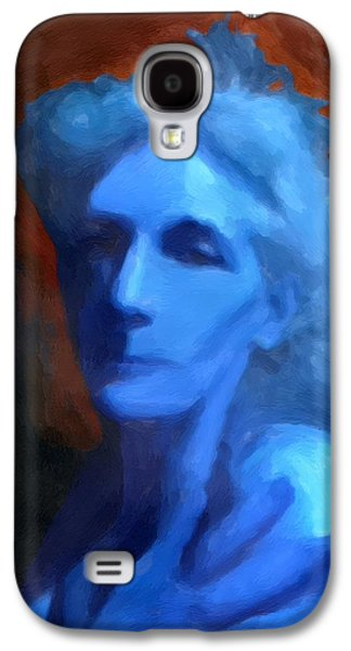 Abstracted Galaxy S4 Cases - In Flames Galaxy S4 Case by RC deWinter