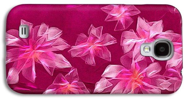 In Flower Galaxy S4 Case by Veronica Minozzi