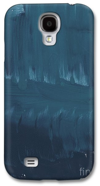 Studio Mixed Media Galaxy S4 Cases - In Stillness Galaxy S4 Case by Linda Woods