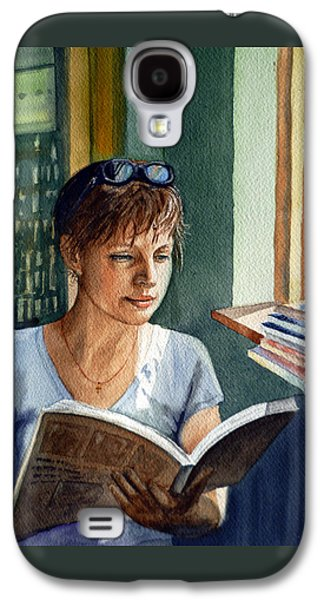 In The Book Store Galaxy S4 Case by Irina Sztukowski