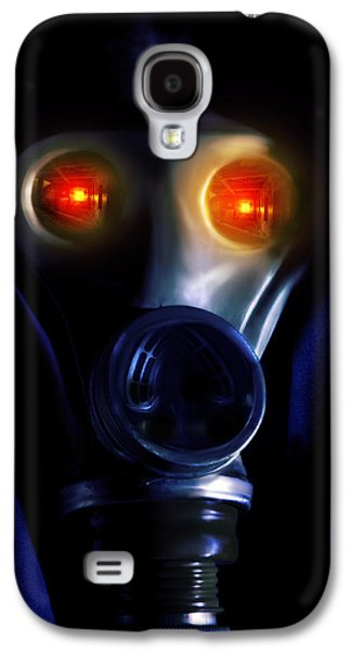 Creepy Digital Art Galaxy S4 Cases - In the bunker Galaxy S4 Case by Nathan Wright