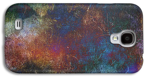Storm Prints Mixed Media Galaxy S4 Cases - In the Center of the Storm- mixed media abstract Galaxy S4 Case by Patricia Griffin Brett