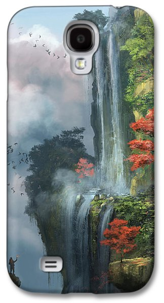 Dreamscape Galaxy S4 Cases - In The Clouds Galaxy S4 Case by Steve Goad