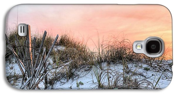 Florida Panhandle Galaxy S4 Cases - In the Dunes of Pensacola Beach Galaxy S4 Case by JC Findley