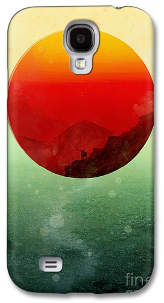 Setting Sun Galaxy S4 Cases - In the end the sun rises Galaxy S4 Case by Budi Satria Kwan