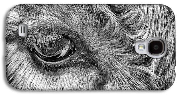 Steer Galaxy S4 Cases - In The Eye Galaxy S4 Case by John Farnan