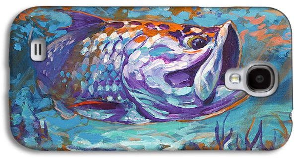 Sportfishing Galaxy S4 Cases - In The Flats Galaxy S4 Case by Mike Savlen