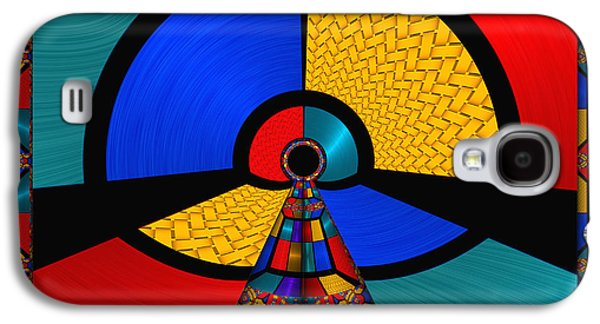 Color Block Galaxy S4 Cases - In The Frame - for metallic paper Galaxy S4 Case by Wendy J St Christopher