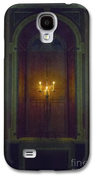 Candle Stand Galaxy S4 Cases - In The Great Hall Galaxy S4 Case by Margie Hurwich