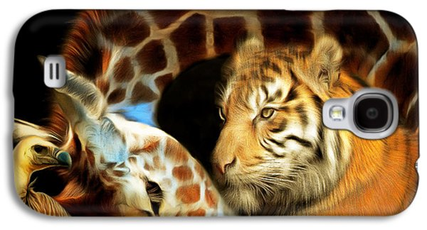 The Tiger Galaxy S4 Cases - In The Jungle 20150215brun square Galaxy S4 Case by Wingsdomain Art and Photography