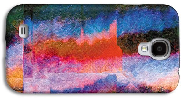 Surreal Landscape Drawings Galaxy S4 Cases - In The Land Of Forgetting 14 Galaxy S4 Case by Jeanette Charlebois