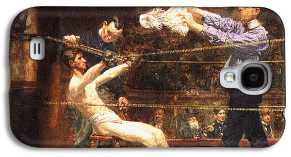 Boxer Digital Galaxy S4 Cases - In The Mid Time detail Galaxy S4 Case by Thomas Eakins