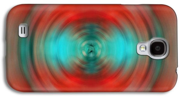 Visionary Paintings Galaxy S4 Cases - In The Moment - Energy Art by Sharon Cummings Galaxy S4 Case by Sharon Cummings