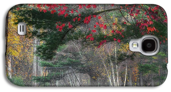 Surreal Landscape Galaxy S4 Cases - In the Park Square Galaxy S4 Case by Bill  Wakeley