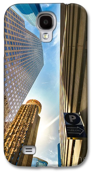 Enterprise Galaxy S4 Cases - In the Shadow of the Skyline District Galaxy S4 Case by Dee Zunker