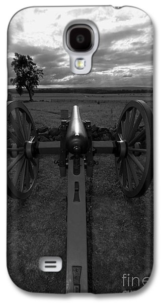 Civil War Site Galaxy S4 Cases - In the Sights at Gettysburg Galaxy S4 Case by James Brunker