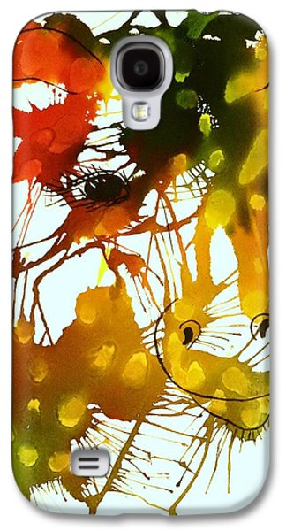 Splashy Art Galaxy S4 Cases - In The Wild Galaxy S4 Case by Ellen Levinson