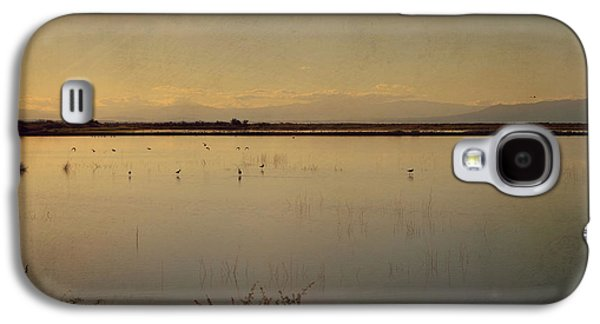 Waterscape Galaxy S4 Cases - In These Peaceful Moments Galaxy S4 Case by Laurie Search