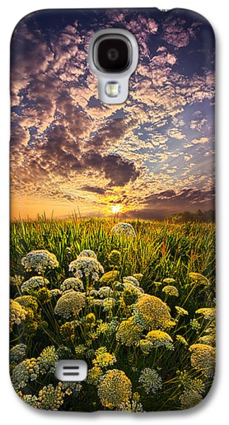 Farming Galaxy S4 Cases - In This Moment We Are Infinite Galaxy S4 Case by Phil Koch