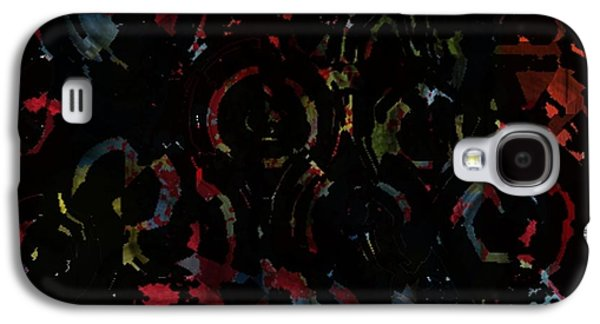 Impressionism Tapestries - Textiles Galaxy S4 Cases - In To The Night Galaxy S4 Case by Claire Masters