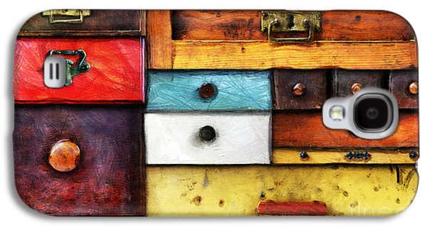 Drawers Galaxy S4 Cases - In Utter Secrecy Galaxy S4 Case by Michal Boubin