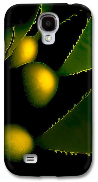 Photo Manipulation Photographs Galaxy S4 Cases - Incandescent Kelp Galaxy S4 Case by Bill Caldwell -        ABeautifulSky Photography