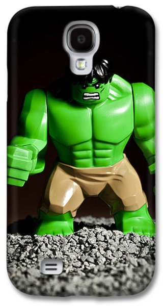Strength Photographs Galaxy S4 Cases - Incredible Hulk Galaxy S4 Case by Samuel Whitton