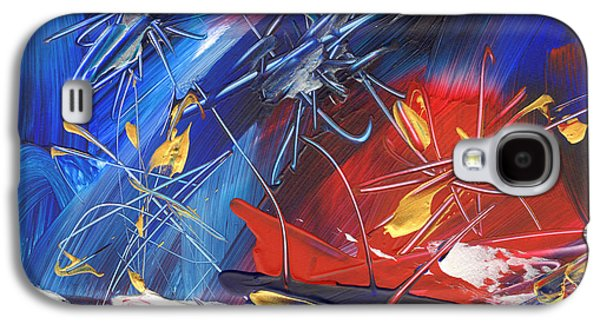 4th July Paintings Galaxy S4 Cases - Independence Day Galaxy S4 Case by Amy Yosmali