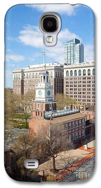 Kaypickens.com Galaxy S4 Cases - Independence Hall Philadelphia Galaxy S4 Case by Kay Pickens