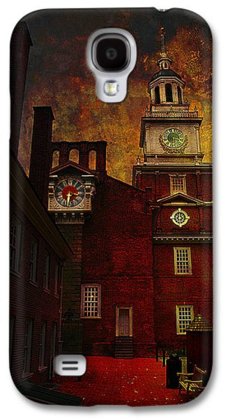 Constitution Galaxy S4 Cases - Independence Hall Philadelphia let freedom ring Galaxy S4 Case by Jeff Burgess