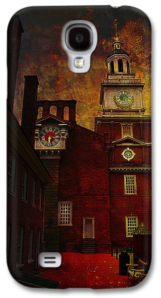 Independence Hall Philadelphia Let Freedom Ring Galaxy S4 Case by Jeff Burgess