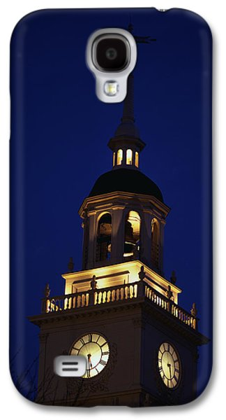 Liberation Galaxy S4 Cases - Independence Hall Tower Philadelphia Pa Galaxy S4 Case by Panoramic Images