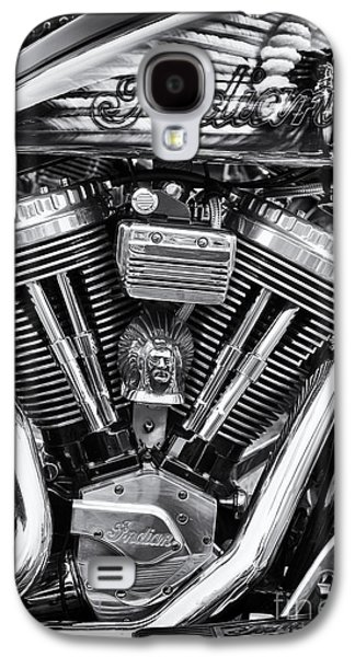 Airbrush Galaxy S4 Cases - Indian Chief  Galaxy S4 Case by Tim Gainey
