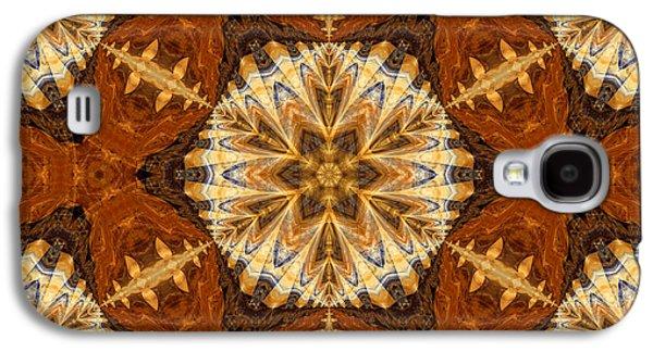 Youthful Galaxy S4 Cases - Indian Cloth Galaxy S4 Case by Georgiana Romanovna
