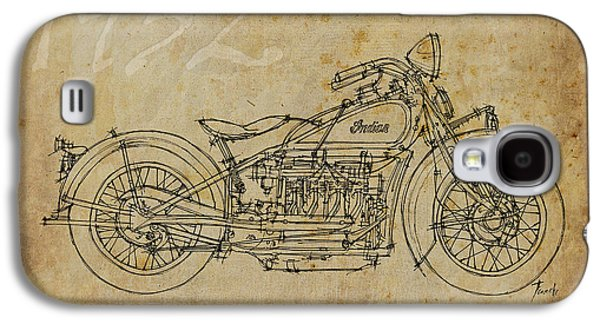 Indian Four 1932 Galaxy S4 Case by Pablo Franchi