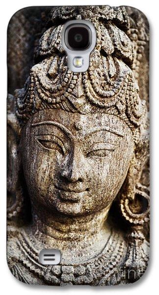 Hindu Goddess Photographs Galaxy S4 Cases - Indian goddess Galaxy S4 Case by Tim Gainey