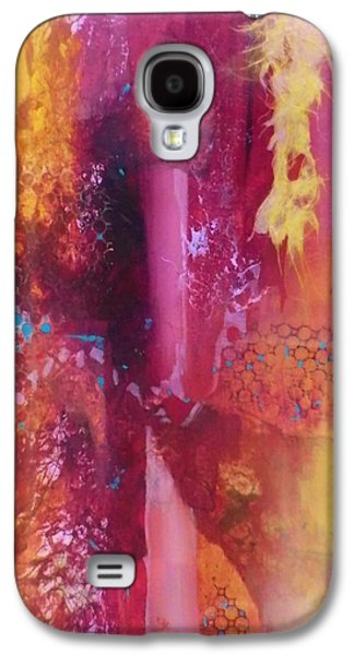 Boardroom Mixed Media Galaxy S4 Cases - Indian Summer Galaxy S4 Case by David Raderstorf