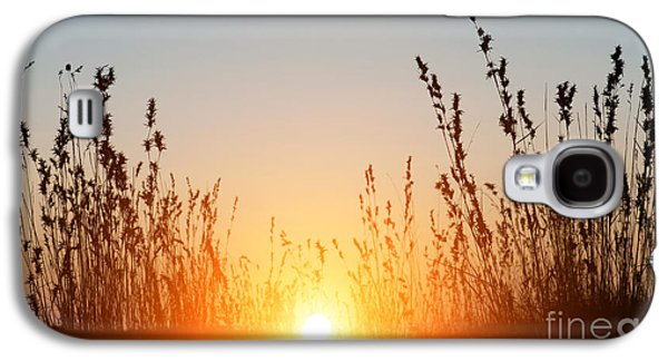 Setting Sun Galaxy S4 Cases - Indian Sunset Galaxy S4 Case by Tim Gainey